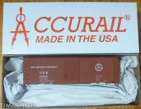 Accurail HO #3546 D&H (40' Steel AAR Boxcar) Plastic Kit