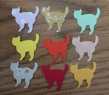 Craft Paper Kitten Cat Die Cuts, Card-making Scrapbooking Tablescatter Confetti