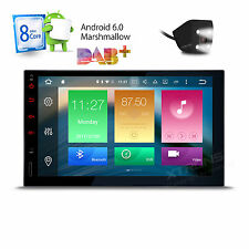 """Double Din 7"""" Head Unit Android 6.0 Octa-Core Car Stereo 1024x600 GPS Navi Touch"""
