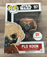 Funko Pop Star Wars Plo Koon #97 Walgreens Exclusive A04