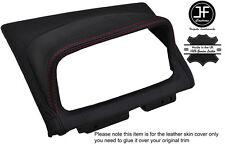 Centro De Punto Rojo Panel Dash Superior Cubierta de cuero adapta Skyline R34 GTR GT-T 98-02