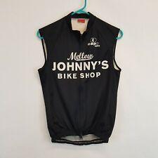 Vtg Capo Mellow Johnnys Cycling Jersey Vest Gilet Size XSmall XS Full Zip