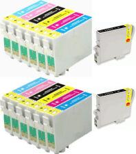 12 inchiostri per Epson R200 R220 R300 R340 RX500 RX600 RX620