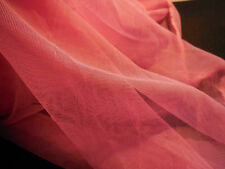 Sharp pink soft tulle fabric bridal wedding polyester fabric 150cm wide.Per 0.5M