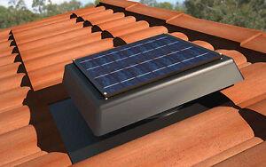 SV200P 24x7 Thermostat SOLAR POWERED ROOF VENT ventilation attic exhaust FAN