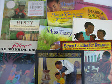 Black Americana Children's Books African American Literature Illustrated Lot