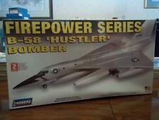B-58 Hustler Bomber Firepower Series (1/64th scale) model kit,