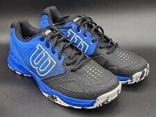 New listing Wilson Kaos Comp Men's Tennis Shoes - WRS321240 - US Size 8.5 - Black/Blue