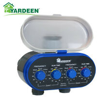 Ball Valve Two Outlet Electronic Hose Water Timer Garden/Home Irrigation System