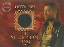 """The Scorpion King - PW-3 """"Steven Brand"""" Pieceworks Costume + Redemption Card"""