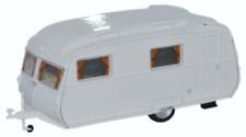 Oxford Diecast 76CC002 Carlight Continental Caravan Arctic White OO Gauge