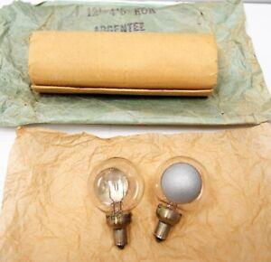 """2 lampes neuvesPATHE Frères """"KOK""""-Circa 1912 '-pour projecteur 28 mm """"C""""-12volts"""