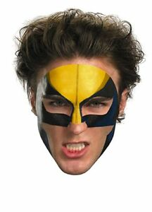 Disguise Wolverine Tattoo Face Mask, Yellow - 11623