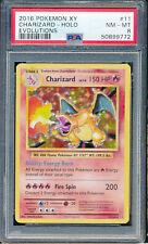 2016 Pokemon XY Evolutions #11 Charizard Holo PSA 8