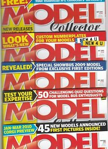 Various Issues of MODEL COLLECTOR Magazine from January 2005 to December 2013
