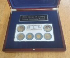 1986 Statue Of Liberty Commemorative 6 Coin Gold & Silver Set NGC MS69 PF69UCam