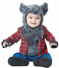 Wittle Werewolf Toddler Costume Wolf Grey Halloween  California Costumes