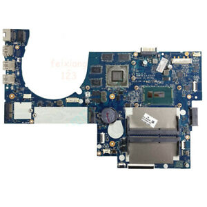 For HP Envy 17T-N M7-N Laptop Motherboard i7-5500U GTX 950M 4G GPU 813682-001