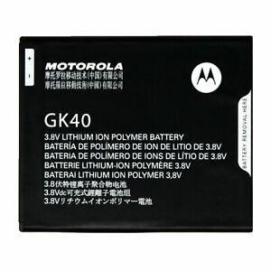 NEW GENUINE OEM MOTOROLA MOTO G4 PLAY XT1607 XT1609 BATTERY GK40 3.8V 2800mAh