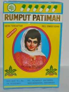 5 BOXES @24 CAPSULES JAMU FATIMAH GRASS FOR SEXUAL VITALITY