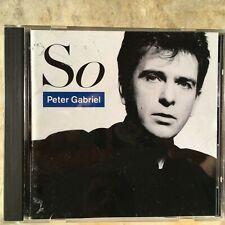 Peter Gabriel – So VJCP-2333 Made In Japan CD EX Genesis