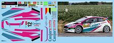 FORD FIESTA R5 CASIER RALLY YPRES 2017  DECALS 1/43