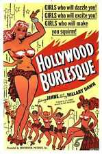 Hollywood Burlesque Poster 01 A2 Box Canvas Print