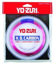 New! Yo-Zuri H.D. Fluorocarbon Wrist Spool 100-Yard Leader Line, Hd30Lbdp100Spl
