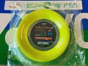 New Yonex Tennis String POLY TOUR Pro 115 200M Reel Yellow PTP 115 Made in Japan