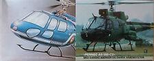 1:50 HELLER #80487 AS 350 Ecureuil Gendarmerie Nationale / Fennec AS 550-C2
