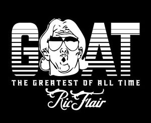 Ric Flair GOAT shirt Greatest of All Time 16x Champion Four Horsemen 4 wrestling