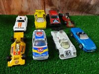 "Vintage Matchbox diecast 1:56 coletable Sport Active Cars lot x 8 3"" E5"