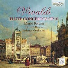 Vivaldi / Folena / L - Flute Concertos Op. 10 [New CD]