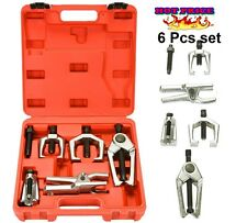 6 Pc Heavy Duty Ball Joint Separator Pitman Arm Pullers Front End Tie Rod Puller