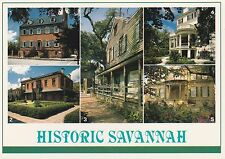 """*Georgia Postcard-""""Historic Savannah"""" (U2-361)"""