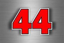 Sticker decal car bike motorcycle formule 1 F1 number 44 lewis hamilton formula