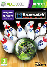 14.9Avalanche: Brunswick Pro Bowling ~ Kinect XBox 360 Game (in Great Condition)