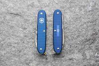 Sonderedition Wanger Victorinox Pioneer X Blau Blue Alox Schere Schweiz