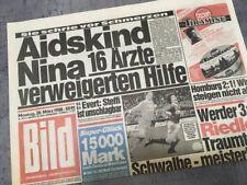Bildzeitung BILD 28.03.1988 * Das besondere Geschenk zum 30. 31. 32. Geburtstag