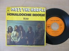 "Mott The Hoople – Honaloochie Boogie  7"" Single  Vinyl  vg+"
