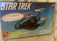 AMT ERTL Star Trek Special Edition 3 Piece U.S.S. Enterprise Chrome Ship MISB