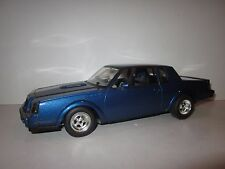GMP STREET FIGHTER SERIES 1:18 SCALE 1987 BUICK GNX DRAG RACE CAR BLUE/GY+BLK