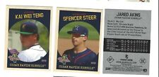 2019 CEDAR RAPIDS KERNELS  UPDATE SET COMPLETE LOW A MINNESOTA TWINS