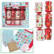 6 Paquet Nouveauté Jeu Noël Crackers - Image Lotto