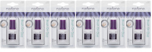 Nailene Ultra Quick Brush On Nail Glue, Pink (6 Pack)