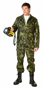 Hunting Fishing Hiking Forest Suit | Jacket Pants Set | Russian Air Force Army