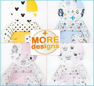 BABY BEDDING/NURSERY SET- FIT COT OR COT BED - BOY OR GIRL - 50 DESIGNS-2 SIZES