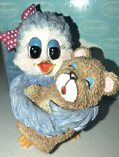 "1998 Sonshine Promises ""Hugs Make The World A Better Place"" Bluebird Figure 2167"