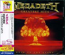 MEGADETH GREATEST HITS: BACK TO THE START 2016 JAPAN SHM HIGH FIDELITY CD - NEW!