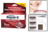Dentemp Denture Repair Emergency Denture Repair Kit Safe & Easy To Use 3 Repair